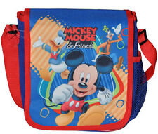 Shoulder Bag Tote Disney Mickey & Friends Donald Goofy Lunch Travel NEW