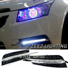 Exact Fit High Power 6 LED Daytime Running Light DRL Lamp Kit Chevy Cruze 09-14
