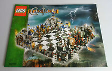 LEGO® Castle Bauanleitung 852293 Schachspiel Gigant Chess Instruction like new