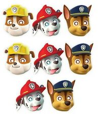 PAW PATROL PAPER PARTY MASKS (8)