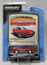 1989 PONTIAC FIREBIRD FORMULA * GREENLIGHT MUSCLE CAR GARAGE * RED TRANS AM