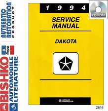 1994 Dodge Dakota Truck Shop Service Repair Manual CD Engine Drivetrain Wiring