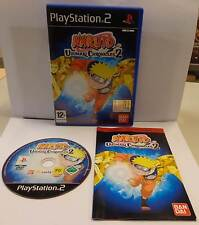 Game Gioco SONY Playstation 2 PS2 PSX2 PAL ITALIANO NARUTO UZUMAKI CHRONICLES 2