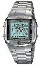 Casio Men's Digital Data Bank Watch, Silver, DB-360-1ADF