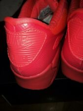 NIKE AIRMAX 90 1 HYPERFUSE ID USA RED OCTOBER LAVA QS LIMITED