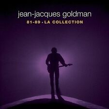 Collection 1981 - 1989 [Bonus DVD] by Jean-Jacques Goldman (CD, Aug-2011, 5...