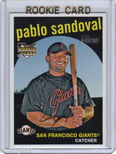 ONLY RC~PABLO SANDOVAL 2008 Topps Heritage ROOKIE CARD~'08~WORLD SERIES~MVP~BOS