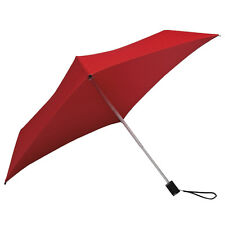 All Square Compact Umbrella - Red