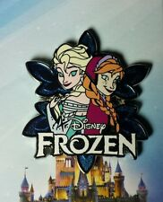 Anna and Elsa Snowflake Jerry Leigh Disney Pin OC Frozen