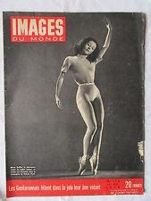 IMAGES DU MONDE 174 (1948) MARIA DELLBA ETOILE DU BALLET ITALIEN