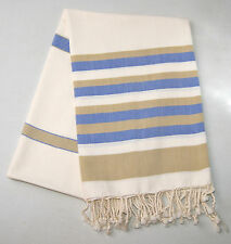 Large Hammam Bath Towel Turkish Peshtemal Sarong Beach Spa Gym Cotton Baby Shawl
