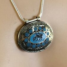 BellyDance ATS tribal PENDANT (Chain not included) Afghani Kuchi 731m4