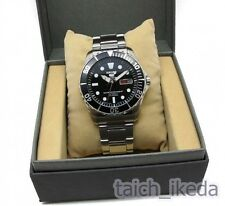 Official Seiko 5 SNZF17 SNZF17J1 Sports Black Dial Automatic Men's Watch Japan