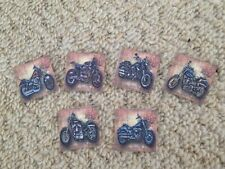40 Harley Davidson Motorbike Mens Table Confetti birthday/Wedding decorations