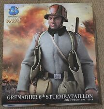 "Acción figura ww1 alemán Lutz DID Fedder 1/6 12"" en Caja Dragon Cyber Hot Toy"