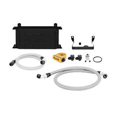 Mishimoto Thermostatic Oil Cooler Kit - Black - fits Impreza WRX & STi - 2006-07
