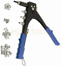 LASER Threaded Nut Riveter/Rivet Gun Rivnut Insert Tool + 40 Rivets M3-M6 0979