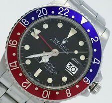 VINTAGE 1977-1978 ROLEX GMT MASTER PEPSI 1675 ALL ORIGINAL 5.3 MILLION SERIES!