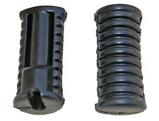 Yamaha YB100 footrest rubbers, front (1980-1992) not genuine Yamaha