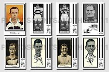 AYR UNITED - CIGARETTE CARD HISTORY 1900-1939 - Collectable postcard set # 1