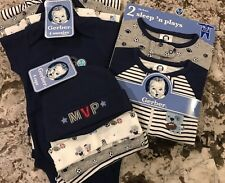 NWT 10pc. BABY BOY CLOTHING LOT SIZE 0-3 MONTHS