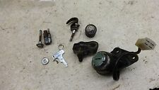 1972 honda cb200 twin H1272~ lock set ignition switch fork seat w key