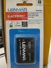 Lenmar PDABCM2 Cell Phone Battery Blackberry New in Package Free Ship
