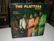 DOUBLE 33 TOURS / DOUBLE LP--THE PLATTERS--ORIGINAL / ONLY YOU / MY PRAYER