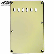 "PLAQUE VIBRATO Tremolo BackCover STRAT US MINT GREEN  3ply .090"" 56mm PG0556-035"