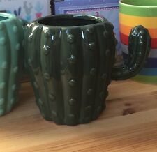 Cactus Mug Cacti Dark Green Novelty Gift Cup Fun
