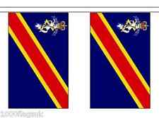 British Army REME Polyester Flag Bunting - 3m long with 10 Flags