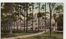 State College PA Nittany Lion Inn Albertype Hand-Colored Postcard @1930