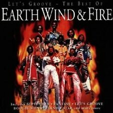 """WIND & FIRE EARTH """"LET'S GROOVE-THE BEST OF WIND & FIRE EARTH"""" CD NEUWARE"""