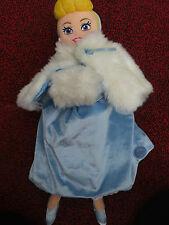 """UFFICIALE Disney 20"""" Cinderella Peluche Store Principessa con mantello e scalda mano"""