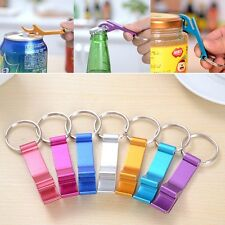 3 Pcs Bottle Opener Key Ring Chain Keyring Keychain Metal Beer Bar Tool Claw