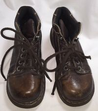 Leather Boots 8542 Eye Ankle Hiking Work Lace Up Size 5 Women Doc Martens Shabby