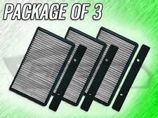 C28165 CABIN AIR FILTER FOR 1999 2000 2001 2002 2003 2004 SAAB 9-5 -PACKAGE OF 3