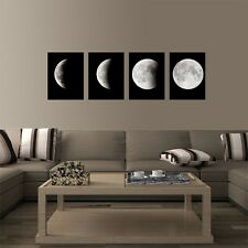 Canvas Prints Home Wall Art Pictures Of The Moon Kitchen Decor For Living Room