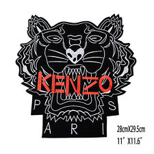 Brand Large Tiger Embroidered Cloth Patches Sew On Patch Applique Jacket Jeans