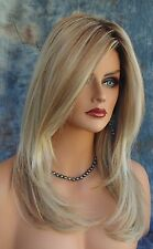 SCENE STEALER Synthetic Wigs NIB  *COLOR SHADED BISCUIT ROOTED BLOND *GORGEOUS
