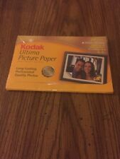 "Brand New KODAK Ultima Picture Paper , High Gloss , 20 sheets, 4""x 6"""