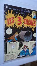 GIL JOURDAN LES 3 TACHES N°8 BROCHE SOUPLE 1981 TILLIEUX DUPUIS