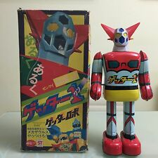GETTER ROBOT 1 IN BOX POPY BULLMARK OSAKA TIN TOY BILLIKEN TAKATOKU CLOVER