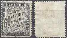 ---- FRANCE TIMBRE TAXE N°21 - OBLITÉRATION CACHET A DATE - COTE 65€ ---