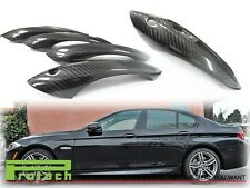 Door Handle Cover for BMW 2011+ F10 528i 535i 550i M5 (4Pcs) - 3k Carbon Fiber
