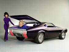 Mustang Milano 1968 Concept Car Color Press photo  8 x 10  Photograph