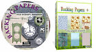 5100 Backing Papers Card Verses Scrapbook Card Making Decoupage Craft DVD Disk