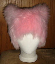 KITTY CAT CANDY PINK SEXY FUR EARS HAT COSPLAY EDM ANIME FESTIVAL HOT SEXY WIG