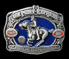 Southern Pony Express Mail Western Belt Buckle Boucle de Ceintures