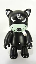 "BLACK CAT Smoking ANARQEE Frank Kozik 2.5"" figure - Smash The State - keychain"